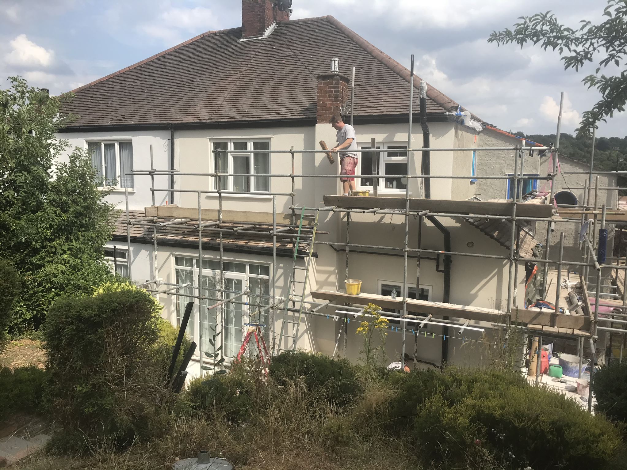 Rendering Croydon and Surrey - Services - Ralph Plastering