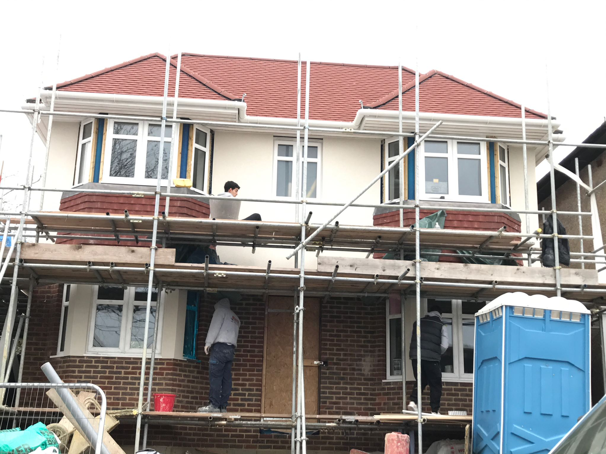 Rendering Croydon - Rendering Surrey - Ralph Plastering